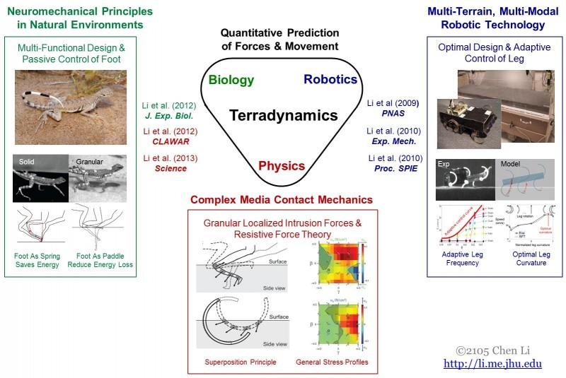 Terradynamics for Granular Media